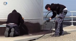Uitlegvideo over onderhoud van voet windmolen