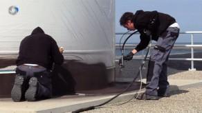 Productvideo over onderhoud van voet windmolen